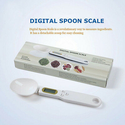 500/0.1g Electronic LCD Digital Kitchen Lab Gram Measuring Spoon Weighing Scale