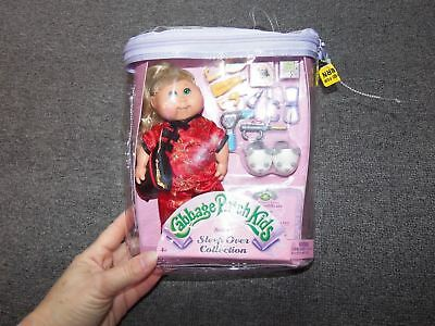 NIP  CABBAGE PATCH KIDS Series 1 Sleepover Collection Doll & Accessories 2004