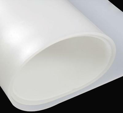 "US Stock 0.5mm x 250mm(9.84"") x 500mm(19.69"") Silicone Pad Sheet Rubber Plate"