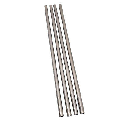 US Stock 4pcs OD 7mm ID 5mm Length 250mm 304 Stainless Steel Capillary Tube
