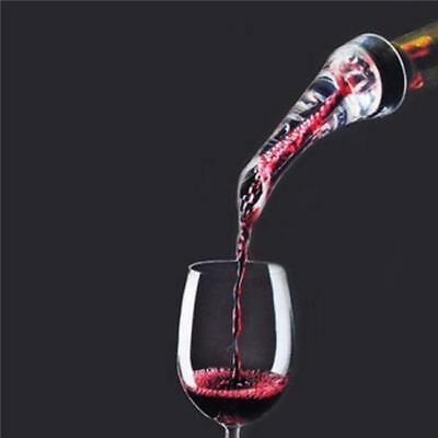 Home Red Wine Aerator Pour Spout Bottle Stopper Decanter Pourer Aerating NEW Y2