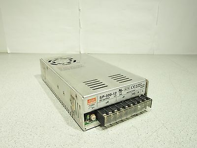 MW Mean Well SP-300-12 DC Output 12V 24A Power Supply