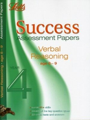 Verbal Reasoning Age 8-9: Assessment Papers (Letts 11+ Success) (...
