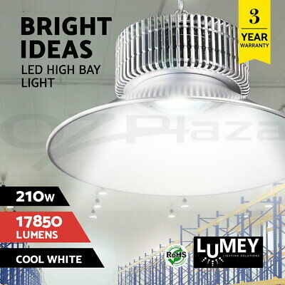 Lumey 210W LED High Bay Light Lamp Factory Warehouse Gym Commercial Wholesale
