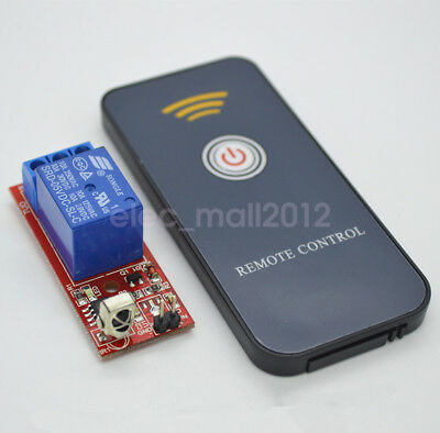 New 1CH 12V Infrared Remote Control Module IR Receiver Wireless ON/OFF Switch