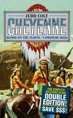 Blood on the Plains (Cheyenne) by Cole, Judd Paperback Book The Cheap Fast Free