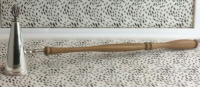 Lovely Hallmarked Sterling Silver Harrion Brothers Candle Snuffer USC RD8184