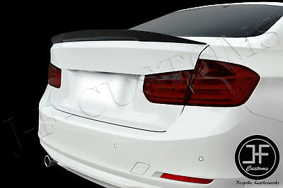 Fits Bmw 3 Series 11-17 F30 Saloon F80 M3 Carbon Fiber Boot Lid Spoiler P-Type