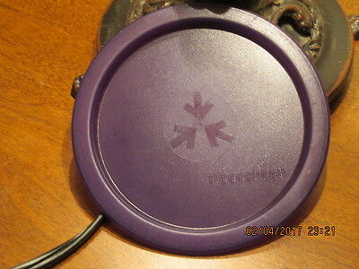 Tupperware A Canister Seal Lid #2423 Sheer Purple NEW FREE SHIPPING