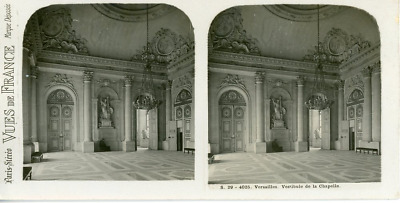 STEREO France Versailles Château STEREO France Versailles Château Tirage argen