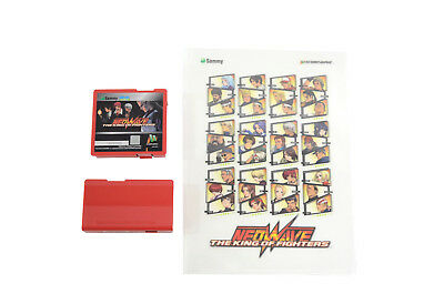 SAMMY ATOMISWAVE THE King of Fighters NeoWave cart & Comm cart W/ Extra!!!