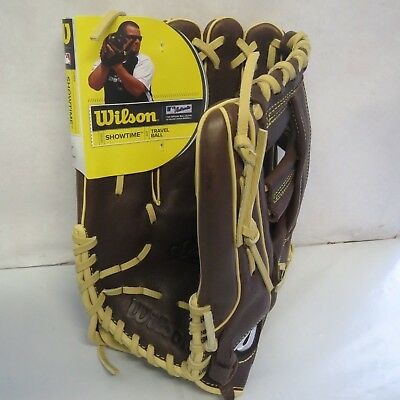 "Wilson Showtime Slowpitch 13"" Baseball/Softball Glove; Left-Hand Thrower"