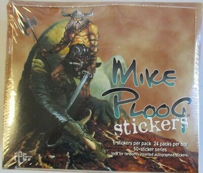 Mike Ploog Factory Sealed Box Of 24 Packs Of Stickers  By Fpg 1996