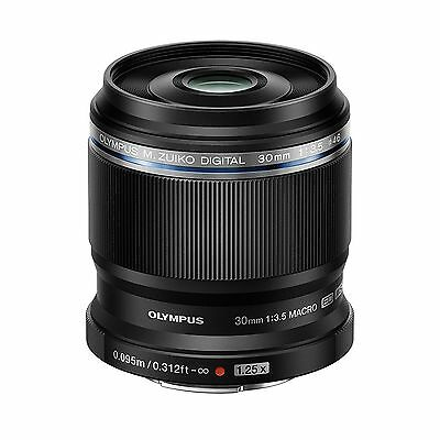 Olympus M.Zuiko Digital ED 30mm F/3.5 Macro Lens M43 (Black) *NEW* *IN STOCK*