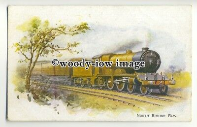 ry1259 - North British Railway, Unknown Locomotive - postcard