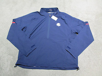 NEW Ralph Lauren RLX Polo 2014 Ryder Cup Windbreaker Jacket Adult Large Mens