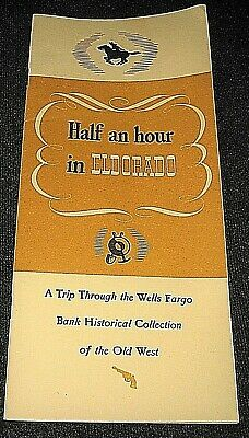 Vintage 1960s Wells Fargo Bank Historical Collection of the Old West Booklet