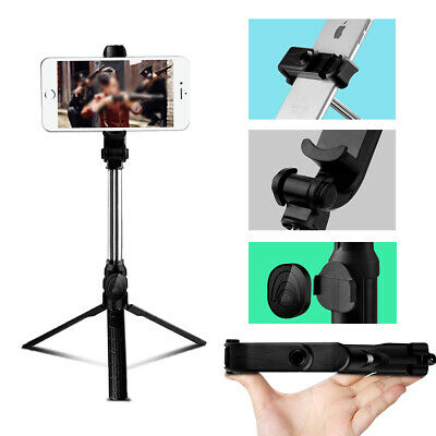 Bluetooth Remote Control Adjustable Selfie Stick Monopod Tripod for Cell Phone