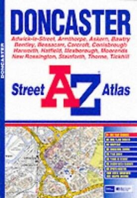 A-Z Doncaster Street Atlas by Anon Paperback Book The Cheap Fast Free Post