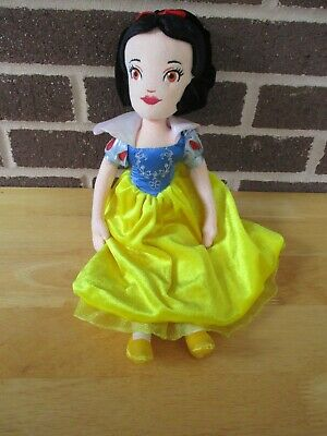 "Disney Brand Snow White Doll 14"" Tall -  All Plush Stuffed"