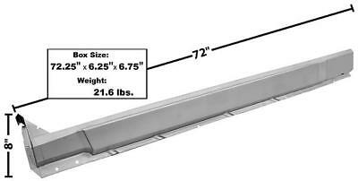LH New 1970-74 Dodge Challenger Rocker Panel Outer w// WTP