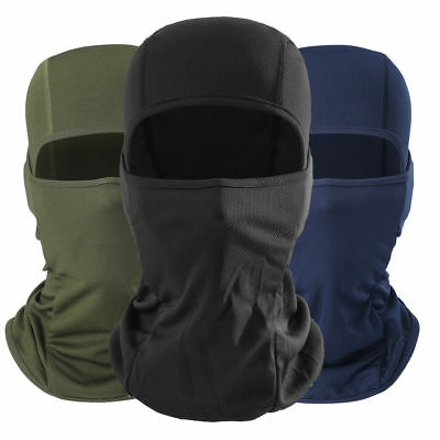 Tactical Balaclava Motorcycle Biker Windproof Cycling Face Mask Neck Protect