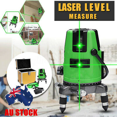 Professional 3D Green Laser Level Auto Self Leveling 360° Rotating Rotary Cross