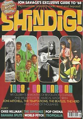 SHINDIG MAGAZINE - Issue 75 (NEW) *Post included to UK/Europe/USA/Canada