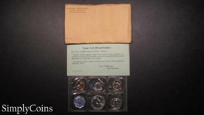 1959 Proof Set ~ Original Envelope With COA ~ US Mint Silver Coin Lot SKU-938