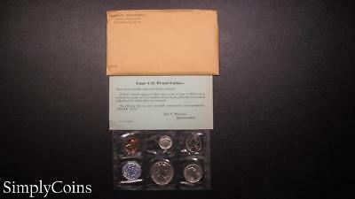 1959 Proof Set ~ Original Envelope With COA ~ US Mint Silver Coin Lot SKU-947