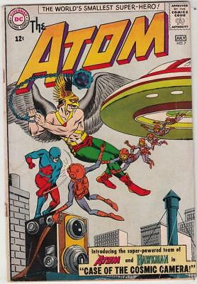 Atom, The  # 7  strict  GD  1st   appearance  Atom and Hawkman team!