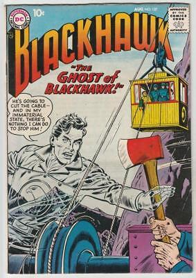 Blackhawk  # 127  strict  VF+  1st   appearance  The Ghost Of Blackhawk!