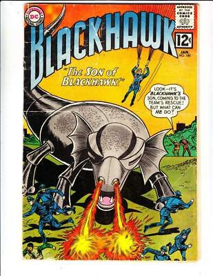 Blackhawk  # 180  strict  VG-  1st   appearance  The Son of Blackhawk!