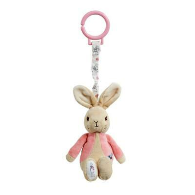 Beatrix Potter 'Flopsy Rabbit' Jiggle Attachable Toy - Clips To Pram Or Cot