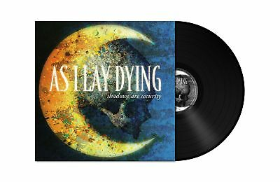 AS I LAY DYING Shadows Are Security 180g BLACK Vinyl LP RI