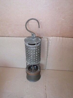 Early Koehler Permissible Miner's Safety Lantern Mining Lamp Light