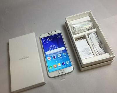 New in Box Samsung Galaxy S6 SM-G920A - 32GB - White Pearl (AT&T) Smartphone