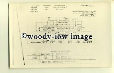 ry1031 - Diagram 5 of Locomotive Constriction for Sharp Stewart & Co.- postcard