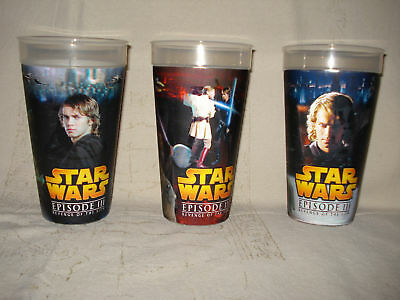 NEUE STAR WARS BECHER EPISODE III MOTIONCUP 3D HOLOGRAM 0,5 l NEU IN FOLIE VERP