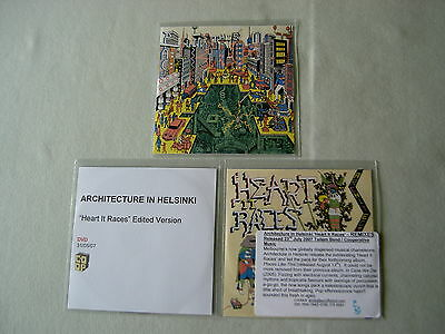 ARCHITECTURE IN HELSINKI job lot of 3 promo CD/DVDs Places Like This