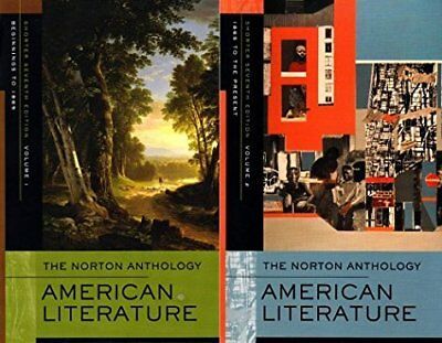 The Norton Anthology of American Literature Shorter Vol. 1 & 2 by Levine