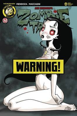 ZOMBIE TRAMP ONGOING #44 CVR F MENDOZA Risque  - PRESALE