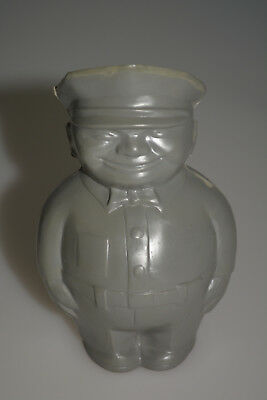 Vintage Service Station Gas Oil Attendant Advertising Coin Bank Fat Man