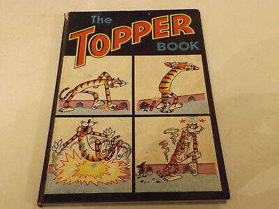 THE TOPPER BOOK,1966 ISSUE,GOOD FOR AGE,52 yrs old,VERY RARE COMIC ANNUAL.