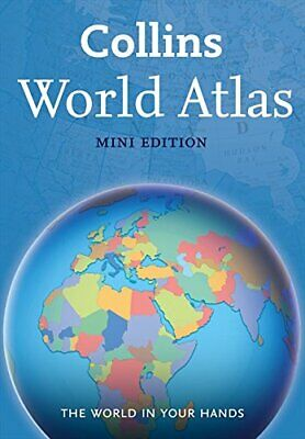 Collins World Atlas: Mini Edition by Collins Maps Book The Cheap Fast Free Post
