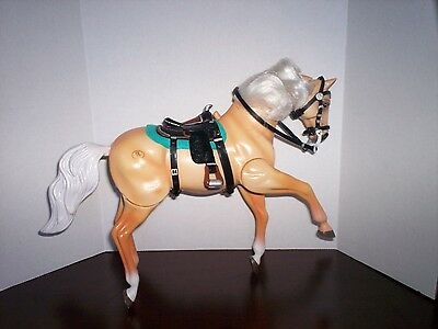 BARBIE GC Empire 1996 Toy Moving Horse Pony Saddle Blanket Articulating & Sounds