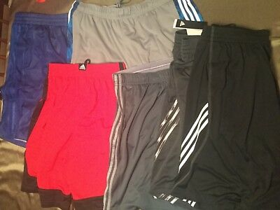Adidas Basketball Shorts New With Tags Men Red Black Gray Blue