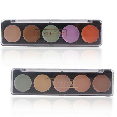 5 Color Highlight Contour Palette Makeup Corrector Concealer Cream for Cosmetics