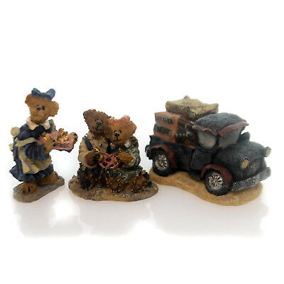 Boyds Bears Resin COCOA'S HOUSE OF CHOCOLATE Boyds Bearly Built Villages 195091