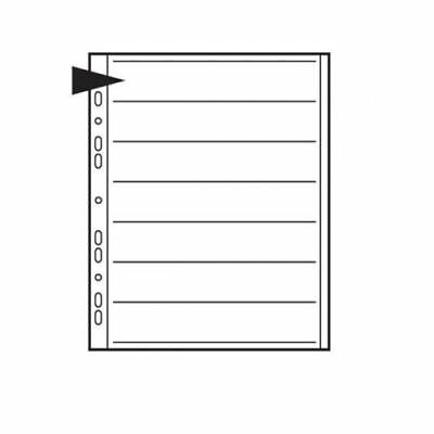 Kenro Ringbinder Storage Pages For Negatives - 35mm - Acetate - 25 Pages - KNF11